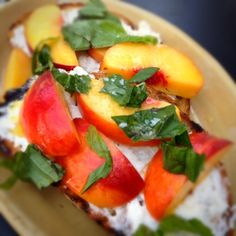 Burrata And Palisade Peaches @ The Kitchen Denver