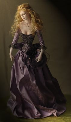 Tom Francirek Collectible Dolls.  I'd like them all please!  Now where can I come up with a million dollars?