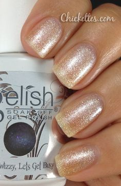 Gelish Champagne Color Swatch