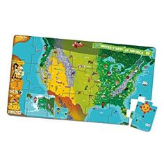 Amazon leapfrog leapreader interactive world map works with amazon leapfrog leapreader interactive united states map puzzle works with tag gumiabroncs Image collections
