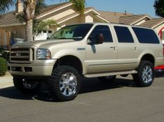 customized ford excursion