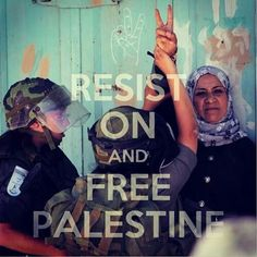 Never stay silent in the face of oppression. Free Palestine