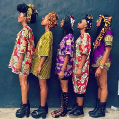 afrikanischer druck Millions of unique designs by independent artists. Find your thing. African Inspired Fashion, African Print Fashion, Africa Fashion, Fashion Prints, African Prints, Ankara Fashion, African Fabric, African Attire, African Wear