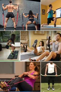 A portable home gym set that gives your whole body a workout in the comfort of your own home is the answer. We have selected 6 of the best portable home gyms in this category that will get back on track for fitness, toning, and weight loss. They are all compact and convenient and leave you with no excuse not to get back in shape! #homeworkouts #health #fitness #healthylifestyle #wellness #workout #gym #fit #training #fitnessmotivation #bodybuilding #exercise #weightloss Weight Training Workouts, Weight Loss Workout Plan, Easy Workouts, Weight Loss Program, At Home Workouts, Fitness Diet, Fitness Motivation, Health Fitness, Home Gym Set