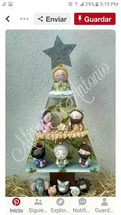 Make for Peg Nativity Christmas Clay, Christmas Nativity, All Things Christmas, Christmas Holidays, Christmas Crafts, Christmas Decorations, Christmas Ornaments, Hobbies And Crafts, Diy And Crafts
