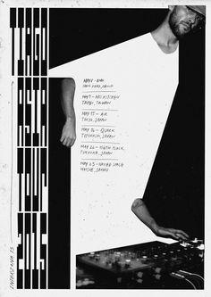 New poster — Tiago (Interzona13 / DFA records) Asian Tour 2015May 8 OMA, Hong Kong, ChinaMay 9 BASS KITCHEN, Taipei, TaiwanMay 15 AIR Tokyo, Japan May 16 QUARK, Toyohashi, Japan May 22 KIETH FLACK, Fukuoka, Japan May 23 NAKED SPACE, Matsue, Japan