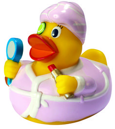 Buy the Miss Me Time of the Amsterdam Duck Store. With robe, lipstick mirror. Meet all the cutest rubber ducks of Amsterdam. Spa, Salon Promotions, Promotional Bags, Corporate Outfits, Quack Quack, Living Room Storage, Private Label, Rubber Duck, Pretty Woman