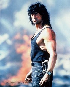 A gallery of Rambo III publicity stills and other photos. Featuring Sylvester Stallone, Richard Crenna, David Morrell, Peter Macdonald and others. Action Movie Stars, Action Movies, Rambo 2, Sylvester Stallone Rambo, Stallone Movies, Rocky Series, Silvester Stallone, Girls In Mini Skirts, Rocky Balboa