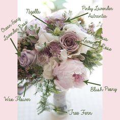 FiftyFlowers Lavender Bouquet Breakdown