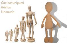 Caricaturigumis, un regalo muy especial. Patrón Cuerpo Básico - Galamigurumis