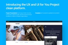 This is a great psd project design template to kickstart a showcase or case study of your UX and UI projects....