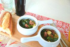 Caldo Verde, Portuguese Green Soup This is a simple one with only three main ingredients. Meant to be a main dish but certainly could be a side without the linguica … making it vegan. Kale is often used in Portuguese cuisine and doesn't fail to be the delicious star. The preparation and cooking is short …