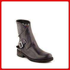 Felmini - Damen Schuhe - Verlieben Verdy A729 - Cowboy   Biker Stiefel -  Echtes Leder - Schwarz - 41 EU Size  Amazon.de  Schuhe   Handtaschen fc84c487f9