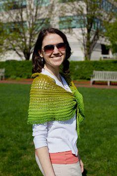 new shawl, coming soon!