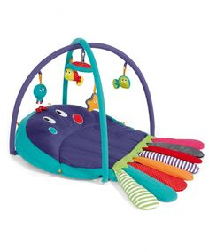 Playmat & Activity Gym - Babyplay Tummy Time  Octopus