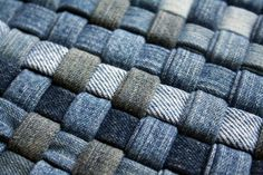 work-wear woven  --  ooooh! Woven (like Striped and Chevron patchworked or pieced denim) looks great!