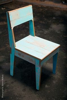 Juliet Arnott | Rekindle chairs | Made from recylced timber from Christchurch's quake