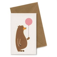 Bear Card – Studio Bomba Shop