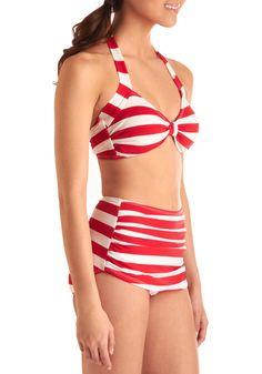 Esther Williams Snack Bar Beauty Two Piece | Mod Retro Vintage Bathing Suits | ModCloth.com