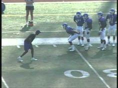 Reggie Cockerm-Norcross High School-Defensive Back Drills - YouTube