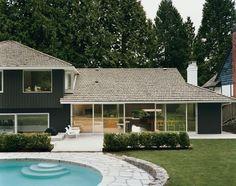 Black exterior darkest black and given up on pinterest for Leblanc custom homes