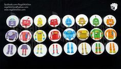 Robots Cupcakes | by The Regali Kitchen