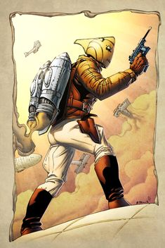 The Rocketeer by spidermanfan2099.deviantart.com