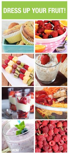 Get fruity with these low-cal recipes using our favorite summer foods!