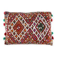 Double Diamond Moroccan Pillow