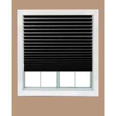Either Temporary Pleated Paper Blinds Or Panels And Tension Rods More