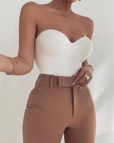 For all of our Signature Monroe Lovers // We have just released a Ribbed version called the DEMI BODYSUIT {featuring removable straps} Teen Fashion Outfits, Mode Outfits, Look Fashion, Girl Outfits, Night Outfits, Korean Fashion, Fashion 2020, Fashion Fashion, Fashion Beauty