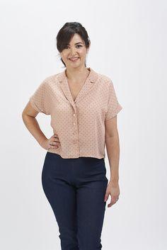 e5c62353453 Libby Shirt PDF Sewing Pattern