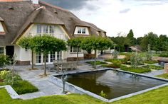 Villatuin in heuvellandschap – - Tuinarchitect Jacques van Leuken Tuinarchitect Jacques van Leuken