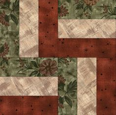 easy quilt block patterns for beginners - Google Search