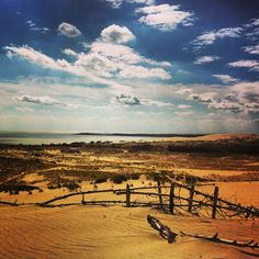 Dune of sand - Nida, Lithuania (UNESCO site) photo taken by me