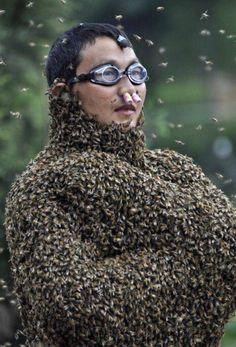 Unbelievable Bee-Lady