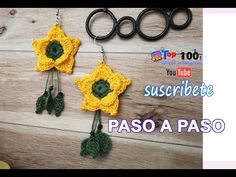 Diy Embroidery Patterns, Crochet Jewelry Patterns, Crochet Jewellery, Chicken Recepies, Tatting Jewelry, Diy And Crafts, Christmas Crafts, Crochet Earrings, Videos