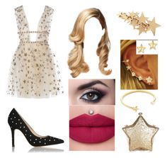 """""""Untitled #701"""" by the-wanted-potato ❤ liked on Polyvore featuring L.K.Bennett, Pamela Love and Kevin Jewelers"""