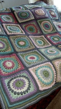 My circle of friends afghan. <3