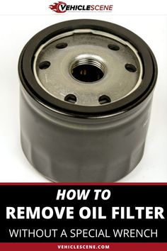 If your oil filter is stuck and you have no wrench, don;t fear! There are still a handful of methods you can turn to, in order to get it off. We discuss the best methods in this guide. Oil Filter, Filters, Cool Car Gadgets, Car Essentials, How To Remove, How To Get, Car Restoration, Flat Tire, Car Tools