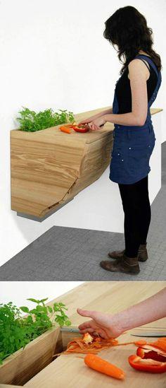 Weiße Küche mit ausziehbarer Arbeitsplatte PINu0027s bis 14062015