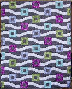another Good Fortune beauty from Ahhh...Quilting: The Curvy Ruler Quilt