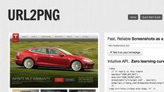 URL2PNG 線上網頁擷取服務,輸入鏈結立即產生全頁截圖