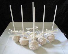 Items similar to Bridal Shower Favors: Premium Bridal Shower Cake Pops, 1 dozen Cake Pops on Etsy Bridal Shower Cake Sayings, Bridal Shower Cakes, Bridal Shower Rustic, Bridal Shower Decorations, Bridal Shower Gifts, Wedding Decorations, Table Decorations, Wedding Cake Pops, Cool Wedding Cakes