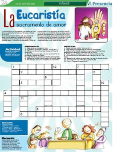 La Eucaristía, sacramento de amor | Presencia Digital Catholic Kids, Corpus Christi, Bible Stories, Nativity, Acting, Study, Faith, Education, School