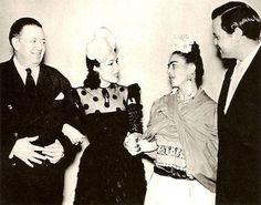Diego & Frida with Dolores del Rio & Orson Welles, 1938
