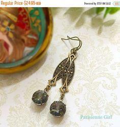 SALE 15% Off Art Deco Jewelry  Gatsby Earrings   by ParisienneGirl