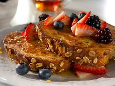 Recipe: Whole wheat french toast with fruit