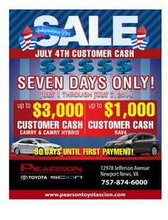 Pearson Toyota Is Celebrating 35 Years Of Amazing Deals. Come In Today And  Get U2026 | Pinterest