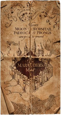 All about the Marauder's Map #harrypotter